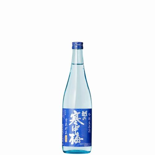新潟銘醸雪蔵貯蔵 越の寒中梅吟醸生原酒